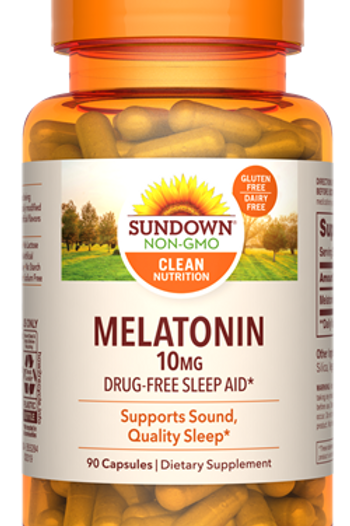 Sundown Melatonin 10mg Capsules 90ct