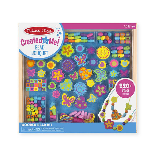 Melissa & Doug Wooden Bead Kit