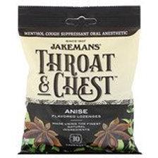 Jakemans Throat & Chest Lozenges - Anise
