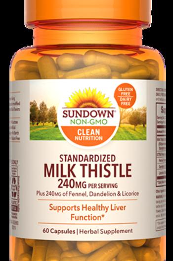 Sundown Milk Thistle 240mg Capsules