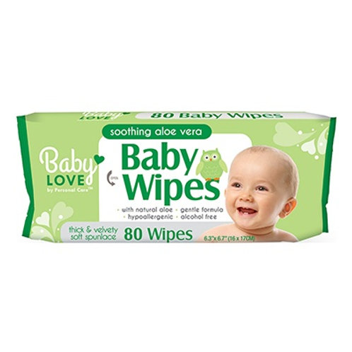 Baby Love ♥ Baby Wipes with Aloe