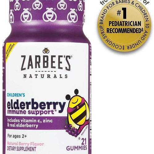 Zarbee's Children's Elderberry Immune Support Gummy 21ct