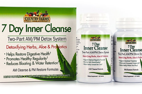 7-Day Inner Cleanse AM/PM Detox System