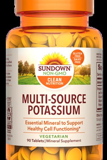 Sundown Potassium Tablets 90ct