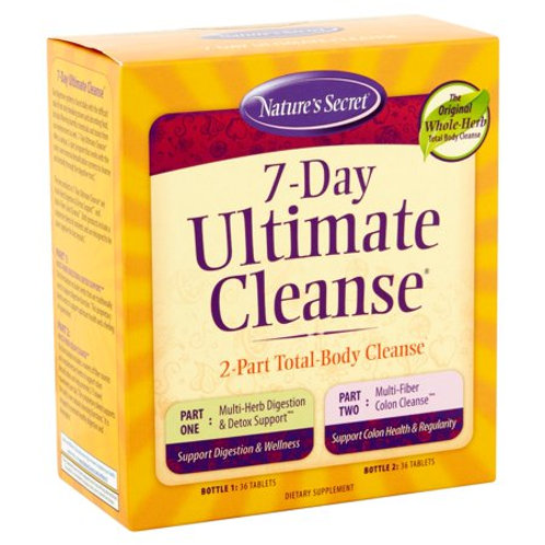 Nature's Secret 7-Day Ultimate Cleanse