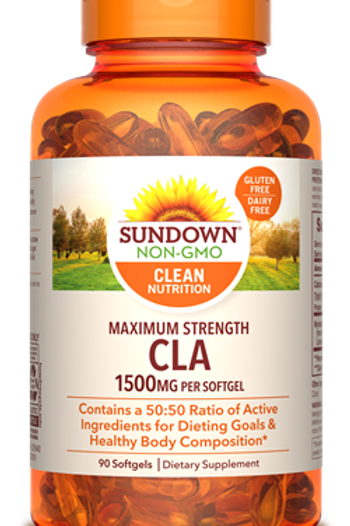 Sundown CLA 1500mg Softgel 90ct