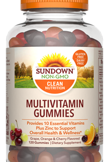 Sundown Multivitamin Gummies 120ct