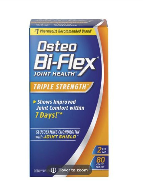 Osteo Bi-Flex Triple Strength Tablets 80ct