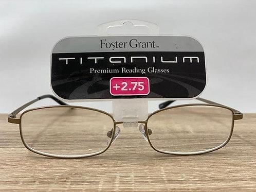 Foster Grant Titanium +2.75