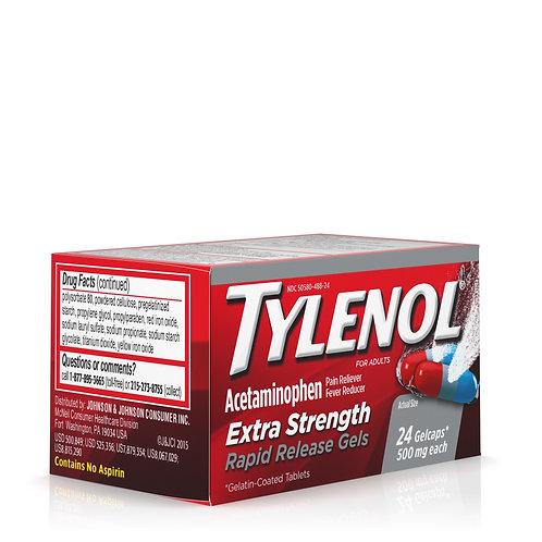 Tylenol Extra Strength Rapid Release Gelcaps 500mg