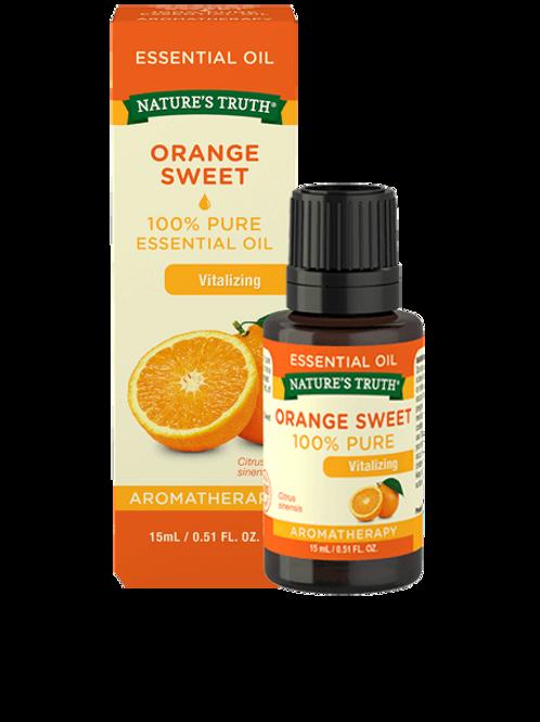 Nature's Truth Orange Sweet Essential Oil