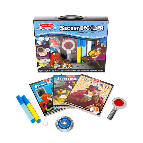 Melissa & Doug Secret Decoder Deluxe Activity Set