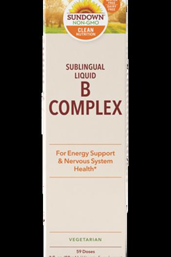 Sundown B Complex Sublingual Liquid 59 doses