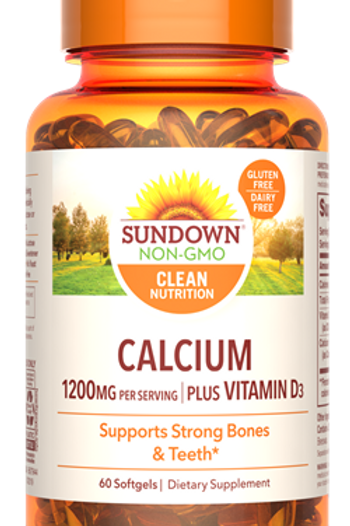 Sundown Calcium 1200 + Vitamin D Softgels
