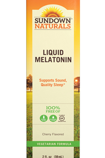 Sundown Liquid Melatonin 59 doses