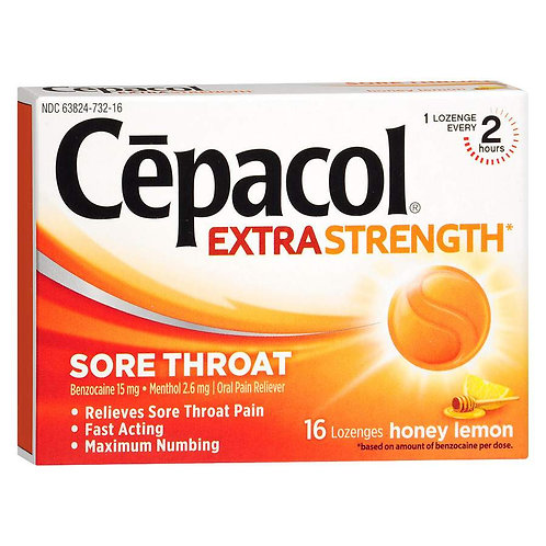 copy of Cepacol Extra Strength Cherry Sore Throat Lozenges