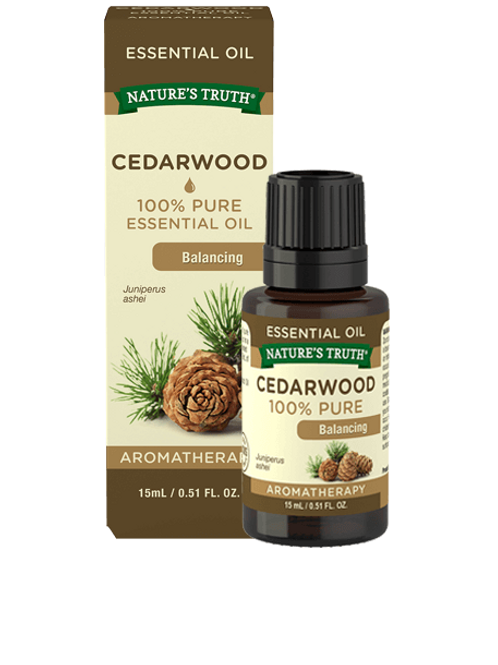 Nature's Truth Cedarwood Essential Oil