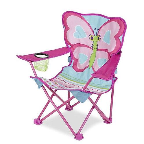 Melissa & Doug Cutie Pie Butterfly Camp Chair