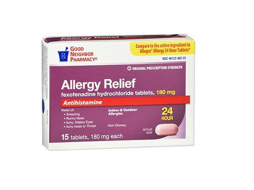 Fexofenadine 180mg Tablet 45ct