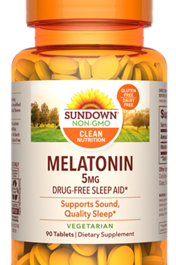 Sundown Melatonin 5mg Tablets 90ct