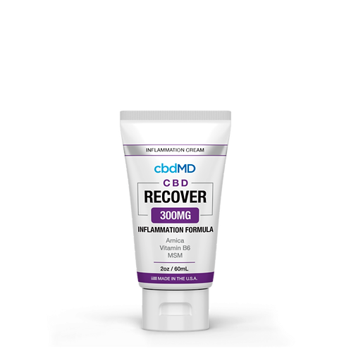 cbdMD Recover 300mg Inflammation Cream