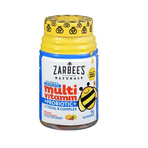 Zarbee's Kids Multi Vitamin + Probiotic - 70 Gummies
