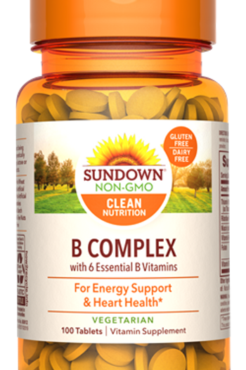 Sundown B Complex Tablets 100ct