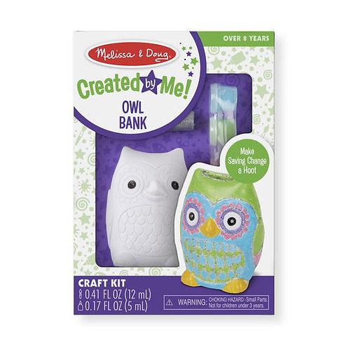 Melissa & Doug Owl Bank Craft Kit