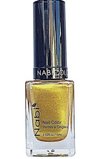Nabi Nail Polish Gold 08