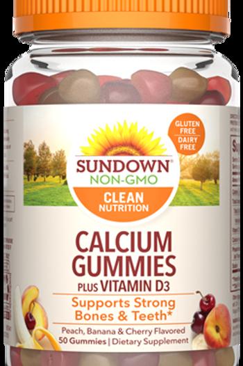 Sundown Calcium + Vitamin D Gummies