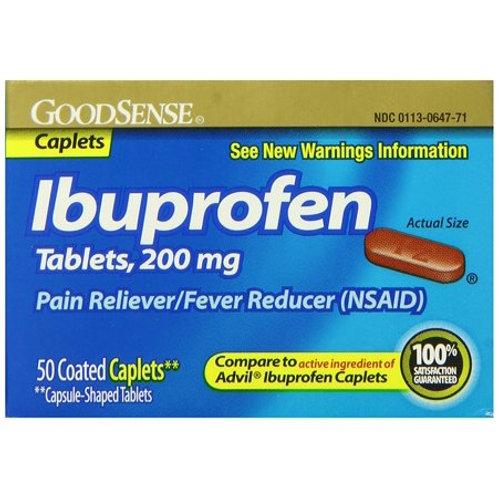 Ibuprofen 200mg Caplets 24 count