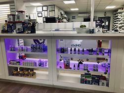 Pharmacy CBD display