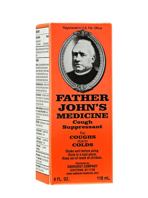 Father John's Cough Medicine - 4oz