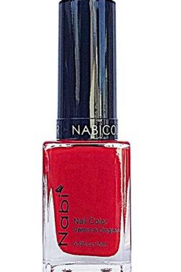 Nabi Nail Polish Bright Red 23
