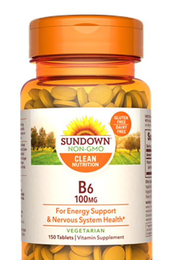 Sundown Vitamin B6 100mg 150ct