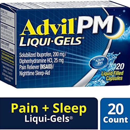 Advil PM Liqui-Gels 20ct