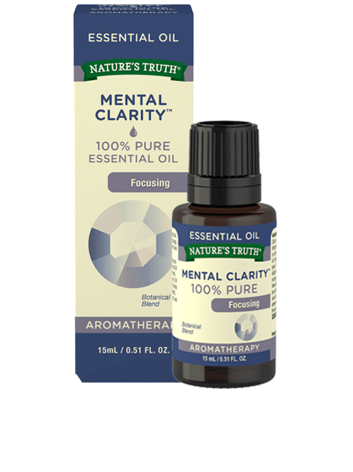 Nature's Truth Mental Clarity Essential Oil
