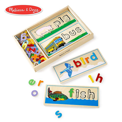 Melissa & Doug See & Spell Puzzle