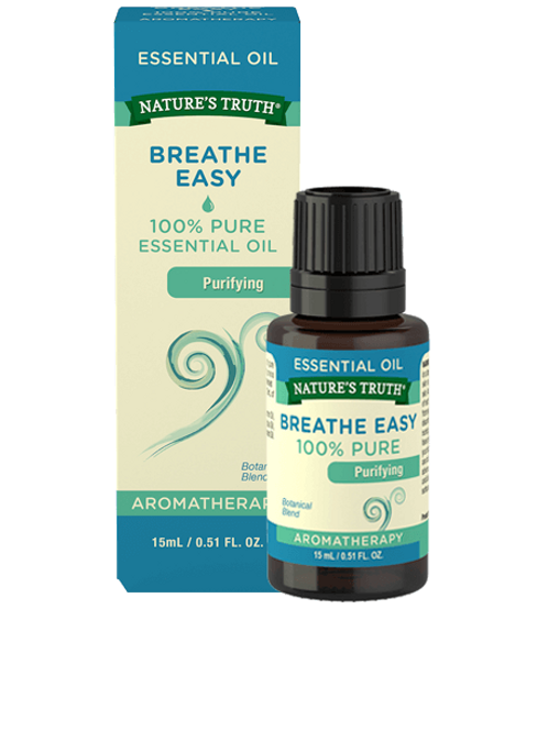 Nature's Truth Breathe Easy Essential Oil