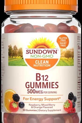 Sundown VitaminB12 500mcg Gummies 50ct
