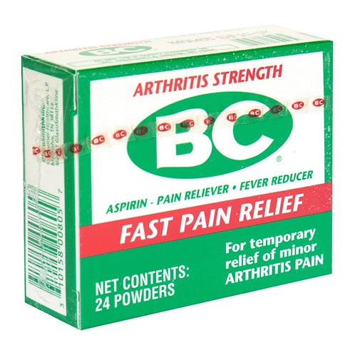 BC Powder Packs - Arthritis Pain