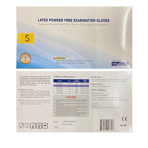 Latex Examination Gloves - 100 ct