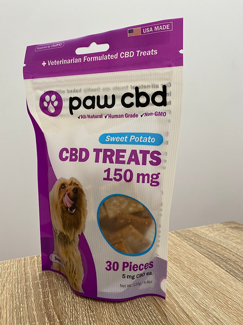 cbdMD CBD Treats 150mg - Sweet Potato