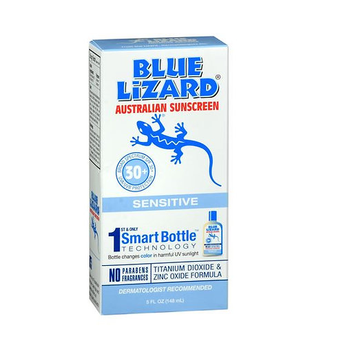 Blue Lizard Sensitive 30 SPF Broad Spectrum Sunscreen