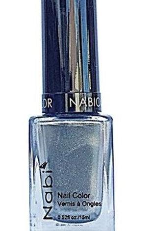Nabi Nail Polish Silver 07