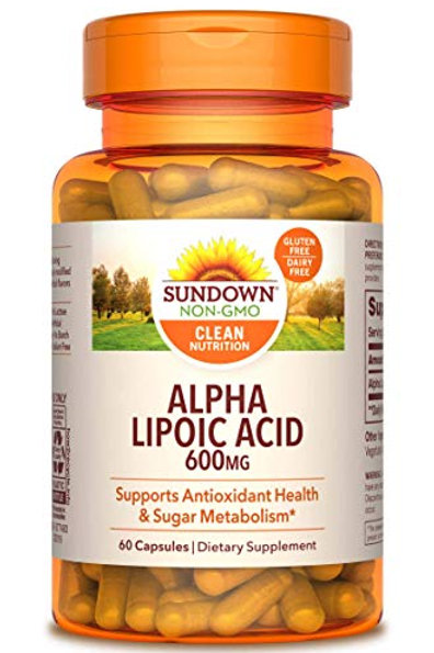 Sundown Alpha Lipoic Acid 600mg 60ct