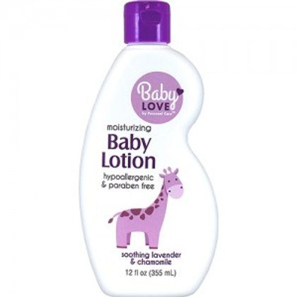 Baby Love ♥ Baby Lotion - Soothing Lavender & Chamomile
