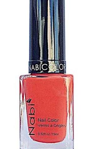 Nabi Nail Polish Pastel Orange 43