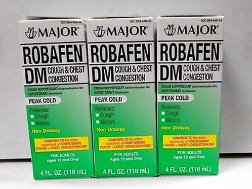Robafen DM Cough & Chest Congestion - 4oz