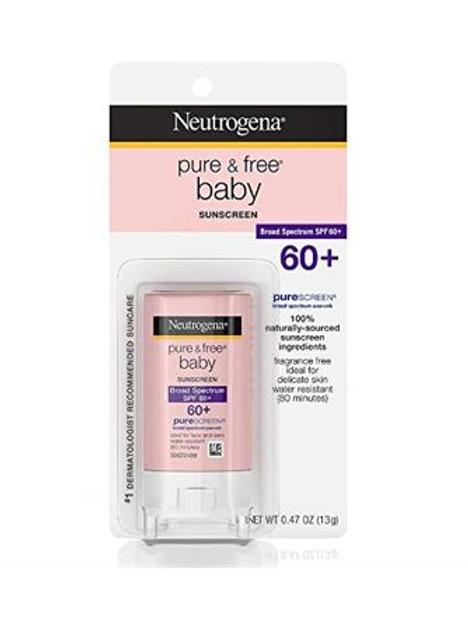 Neutrogena Pure & Free Baby Sunscreen Stick SPF 60